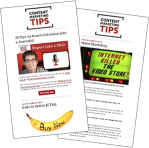 Content Marketing Tips Newsletters